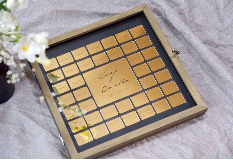 アンティーク感がたまらない♡ゴールドがメインカラーの結婚証明書《デザイン12選》のカバー写真 0.687089715536105