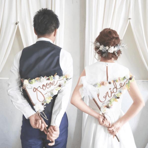 結婚式の前撮りおすすめアイテム20選*周りに差をつけたい人に!作り方も紹介のカバー写真 1.001675041876047