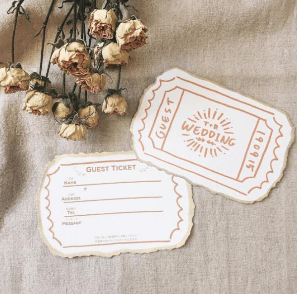 スムーズな受付に『ゲストカード』を♡おすすめデザイン15選*のカバー写真