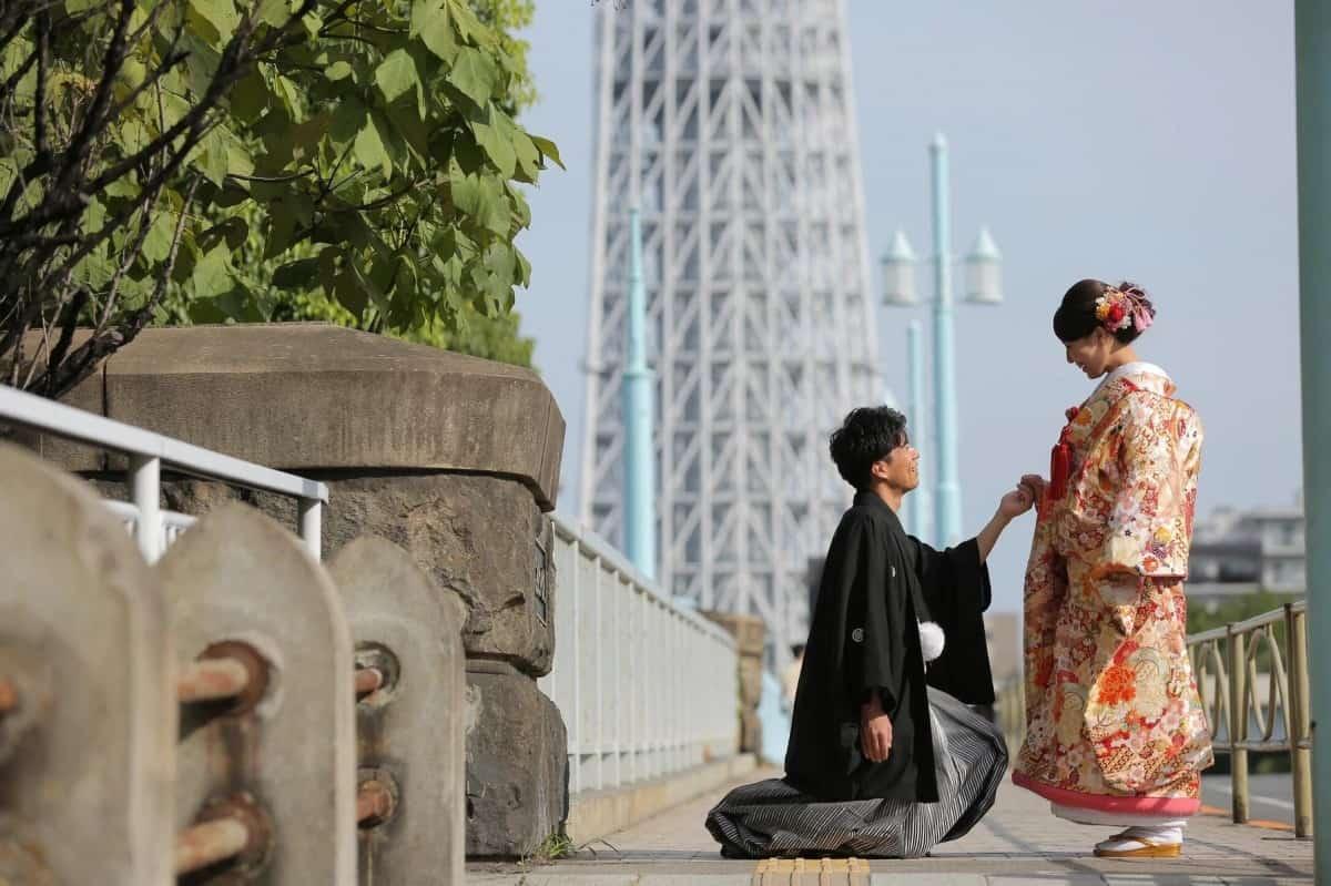 東京都内の和装前撮りスタジオランキングBEST10!おすすめロケーションも♡のカバー写真