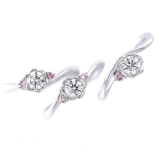 ピンクダイヤモンドで永遠の愛を♡リングブランド10選&ロマンチックな意味や石言葉ものカバー写真 1