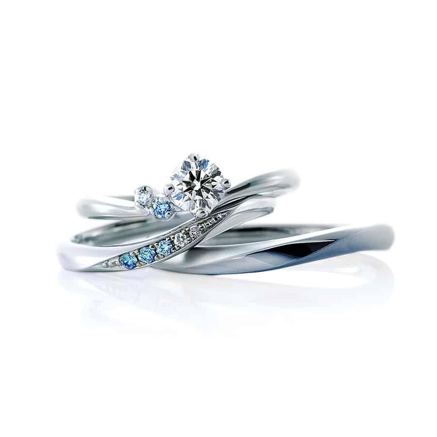 ブルーダイヤモンドで幸せに♡婚約指輪×結婚指輪のブランド3選&うっとりする意味ものカバー写真 1
