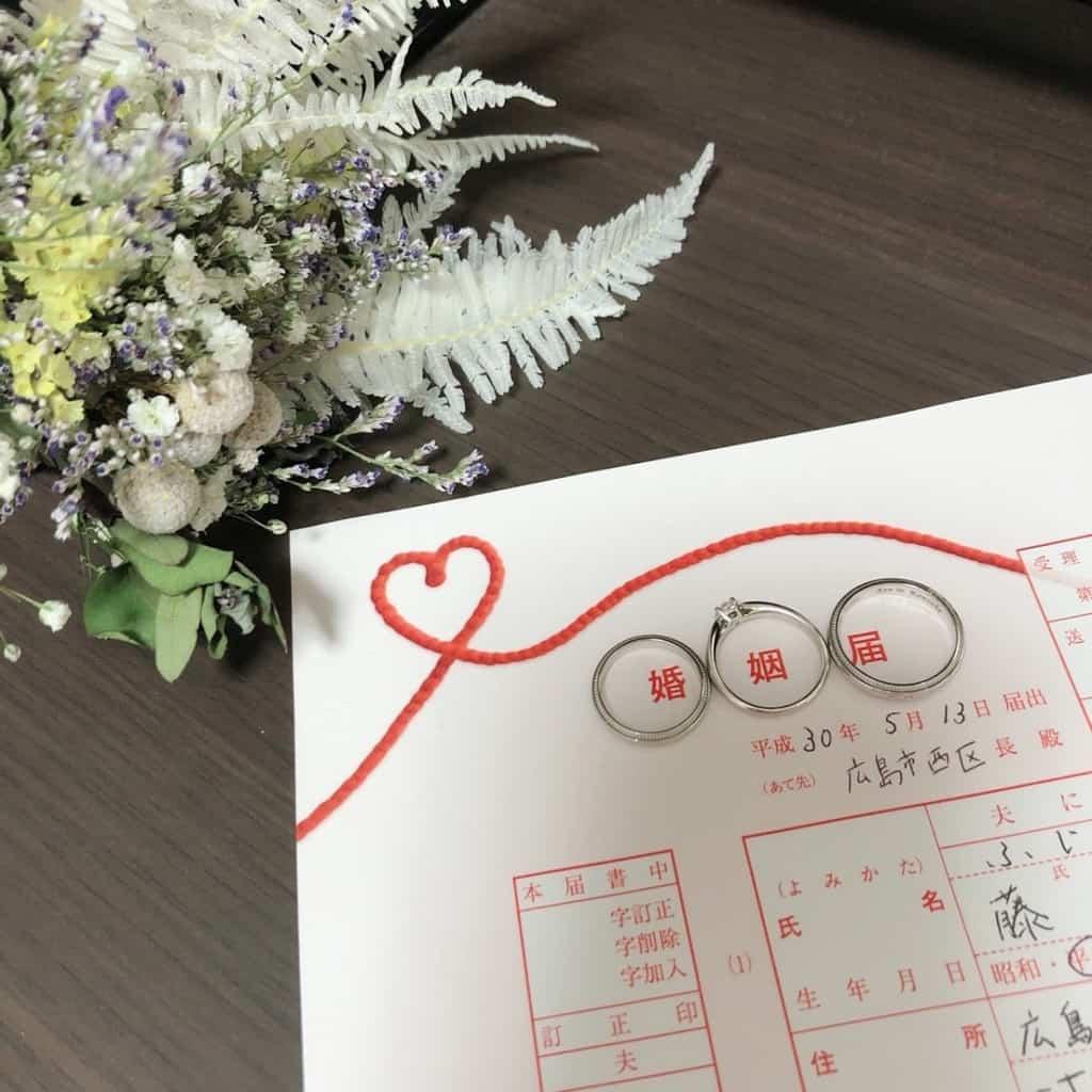 婚姻届の無料ダウンロードサイトまとめ*オリジナル婚姻届の作り方のカバー写真