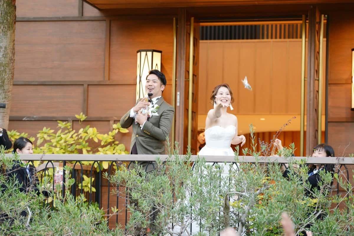 東海地方の素敵な文化♡『お菓子まき』が結婚式の演出として人気!のカバー写真 0.6666666666666666