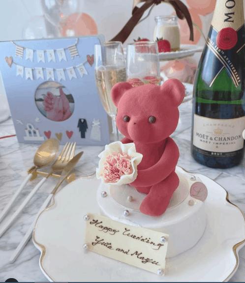 特別な日に『ルワンジュ東京』のくまケーキを♡プロポーズにもおすすめ*のカバー写真