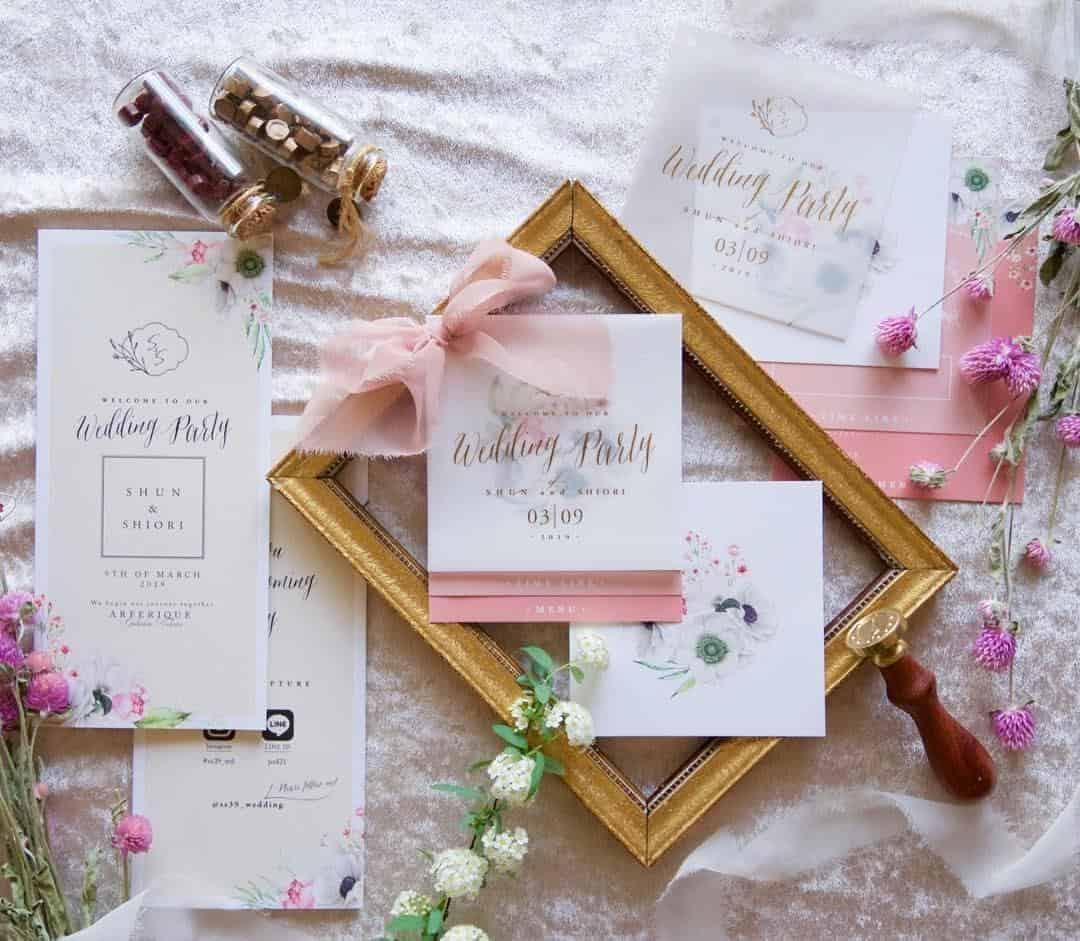 結婚式を手作り♡フリー素材サイト≪ペーパーアイテムからムービーまで≫12選のカバー写真 0.8712962962962963