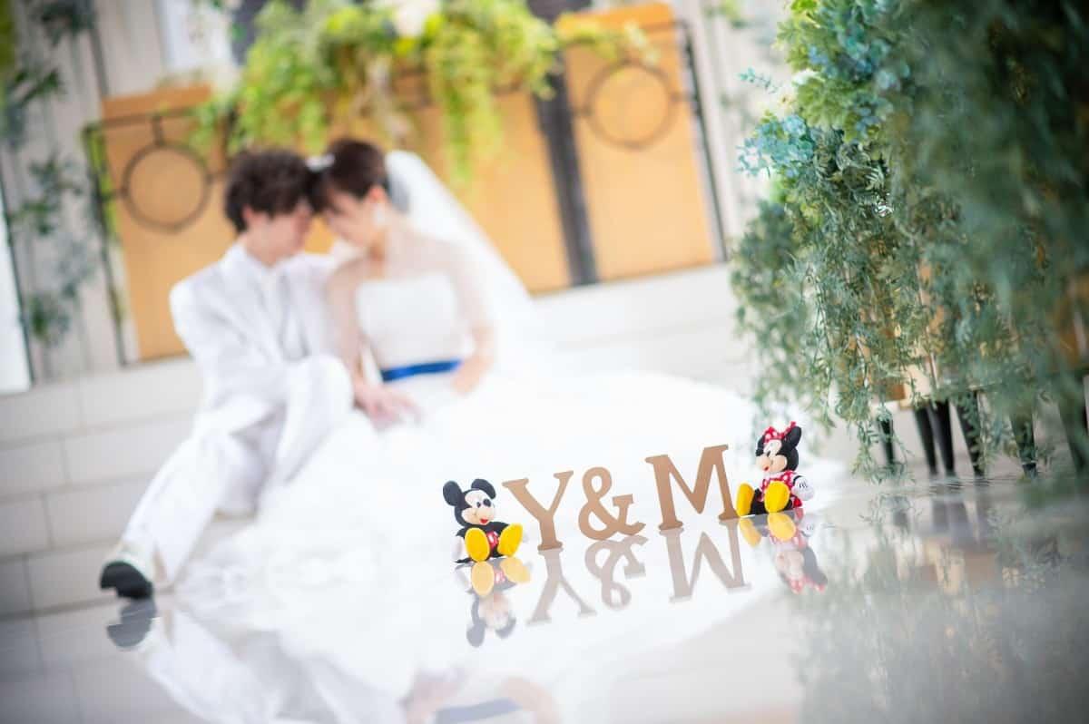 ディズニー風結婚式を叶えるために♡先輩花嫁さまの実例から見るアイデア35選☆のカバー写真 0.665