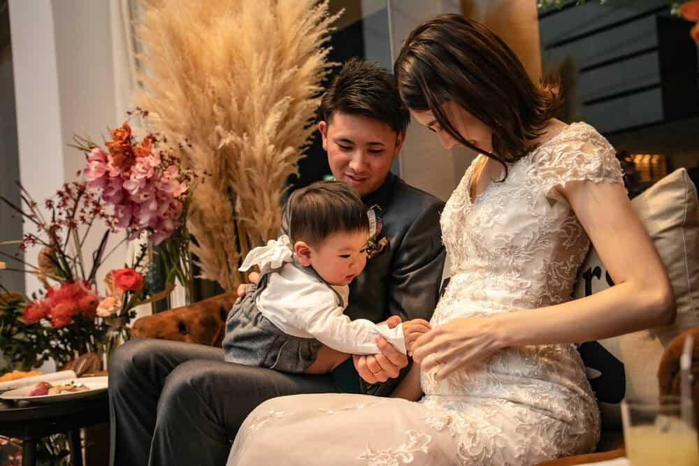 結婚式より「妊活」が先という花嫁さんが増加中!マタニティ・ファミリーウェディングの魅力♡のカバー写真 0.667