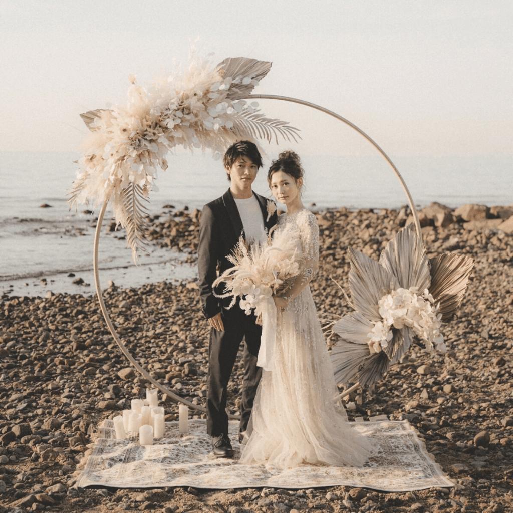 おしゃれ花嫁さん注目!「アーチ」を使った装飾がトレンド♡アイディア50選*のカバー写真 1