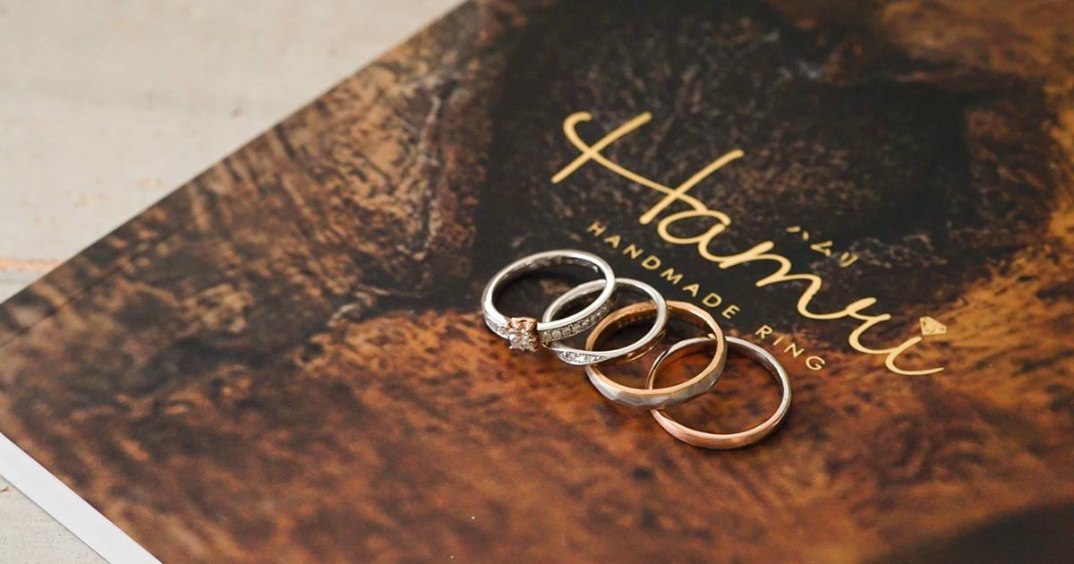 表参道で二人だけの結婚指輪が作れる♡口コミでも評判の『Hamri(ハムリ)』に行ってみた!【体験レポ】のカバー写真 0.525